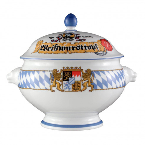 Löwenkopfterrine mit Deckel 3,00 l 27110 Compact