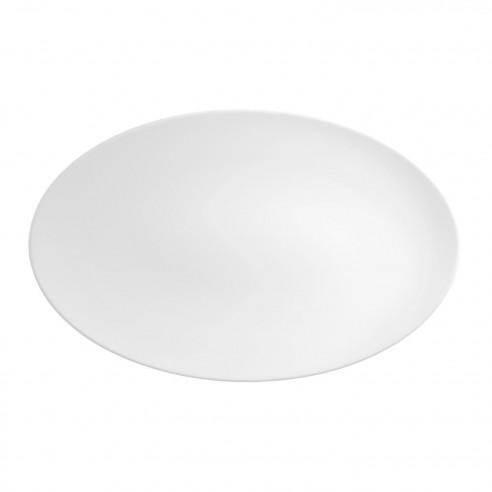 COUP Fine Dining weiß Coupplatte 40x25,5 cm M5379-40x25,5 Platte aus Porzellan