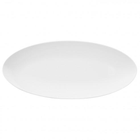 COUP Fine Dining weiß Coupplatte 43x19 cm M5379-43x19 Platte aus Porzellan