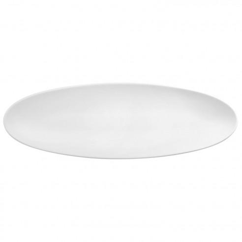 COUP Fine Dining weiß Coupplatte 44x14 cm M5379-44x14 Platte aus Porzellan