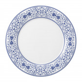 Teller flach 28 cm Fahne - Savoy Grand Blue 57513