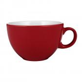 Milchkaffeeobertasse 1164  0,37 l - V I P. Rot 10324
