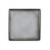 Platte 5170  23x23 cm - Buffet-Gourmet grau 57124
