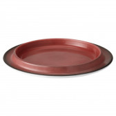 Platte rund 5120  18 cm - Buffet-Gourmet ziegelrot 57126
