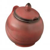 Bowl komplett 5120  1,50 l - Buffet-Gourmet ziegelrot 57126