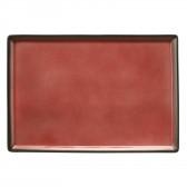 Platte 5170  32,5x22,4 cm - Buffet-Gourmet ziegelrot 57126