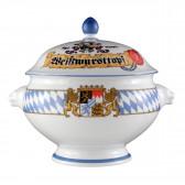 Löwenkopfterrine mit Deckel 3,00 l - Compact Bayern 27110