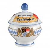 Senftopf mit Deckel 0,18 l - Compact Bayern 27110