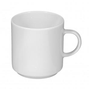Obere zur Milchkaffeetasse