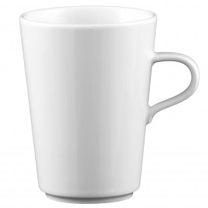 Obere zur Milchkaffeetasse konisch 0,37l 00006 Mandarin