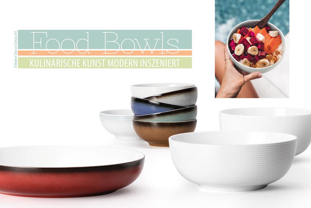 Food Bowls aus Seltmann Weiden Porzellan