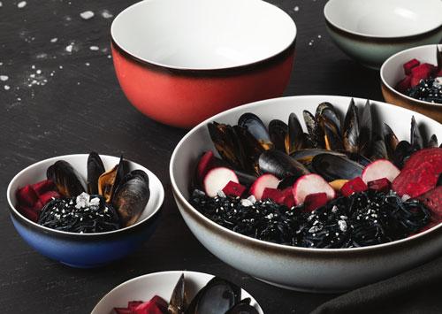Coup Fine Dining Fantastic Food Bowls mit schmackhaftem Inhalt