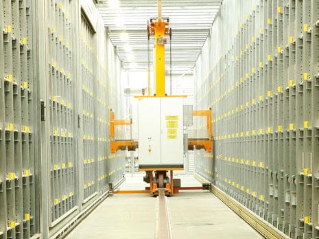 sukzessive Optimierung der Logistik