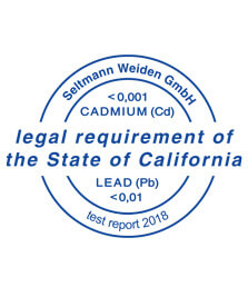 Stempel legal requirement of the state of california cadmium test