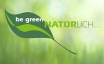 Be Green - Umwelt-Qualitäts-Siegel von Seltmann Weiden