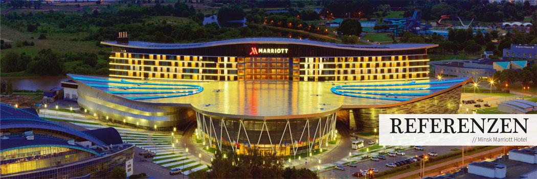 Das Minsk Marriot Hotel - Eine Top Referenz von Seltmann Weiden Hotel