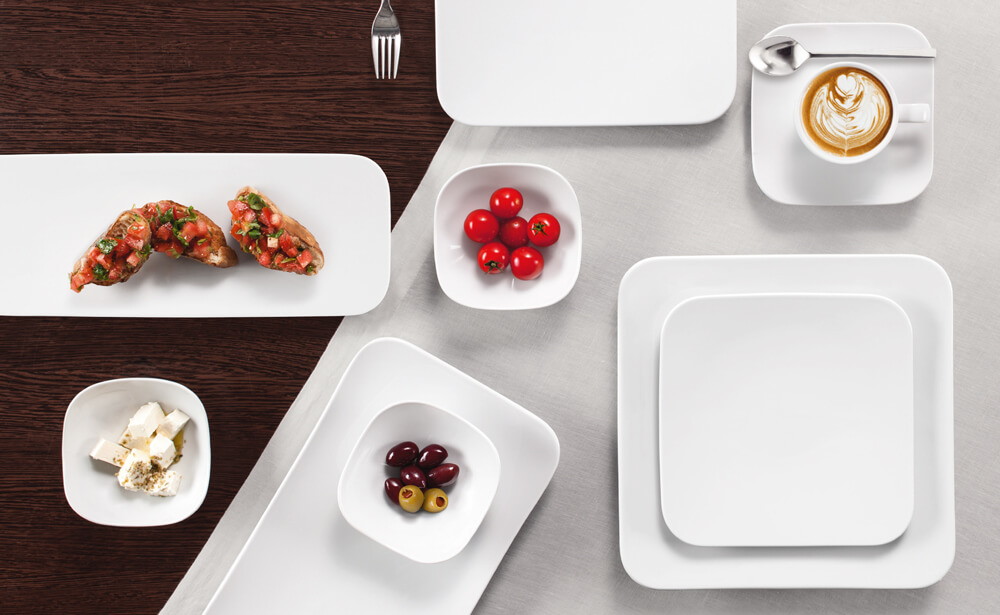 Coup Fine Dining white - Porcelain tableware at the highest level