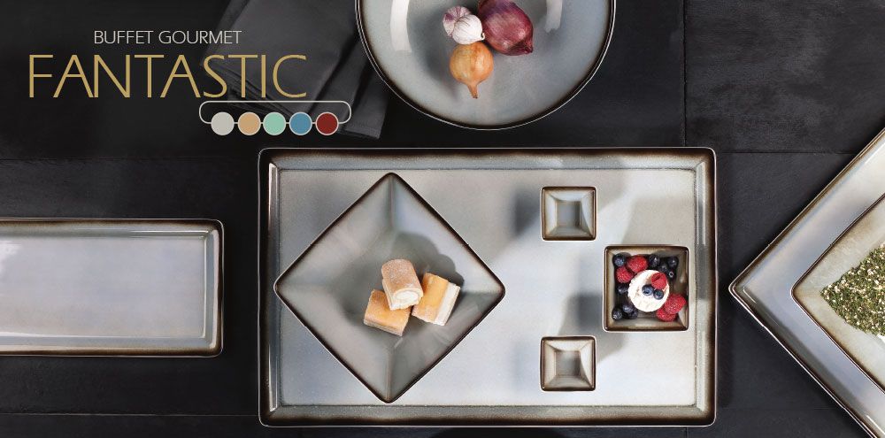 Porzellan Geschirr Seltmann Fantastic Buffet Gourmet