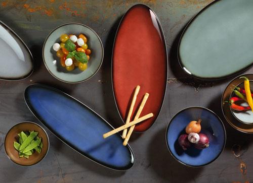 Porzellan Geschirr Seltmann Coup Fine Dining Fantastic Platten und Schalen