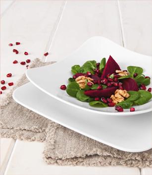 Coup Fine Dining eckig - Hotelporzellan - Gastronomieporzellan - Gastrogeschirr