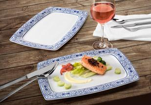 Savoy »Grand Blue« - finest porcelain with that extra oomph