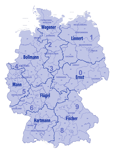 Vertreterkarte Seltmann Porzellan