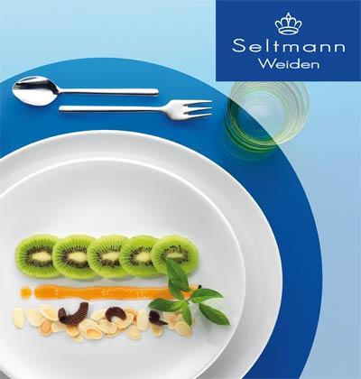 Seltmann Weiden Logo mit Porzellanform Modern Life